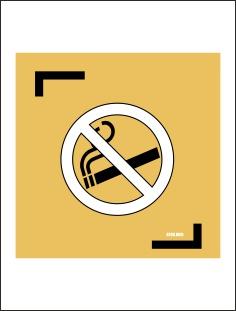 табличка Не курить знак
