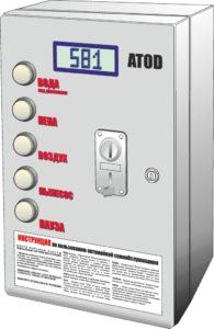 Блок управления АТОД, блок управления автомойкой самообслуживания, АТОД инструкции, мойка самообслуживания